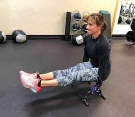 Elevated Seated Pike Hold - Try this variation ..