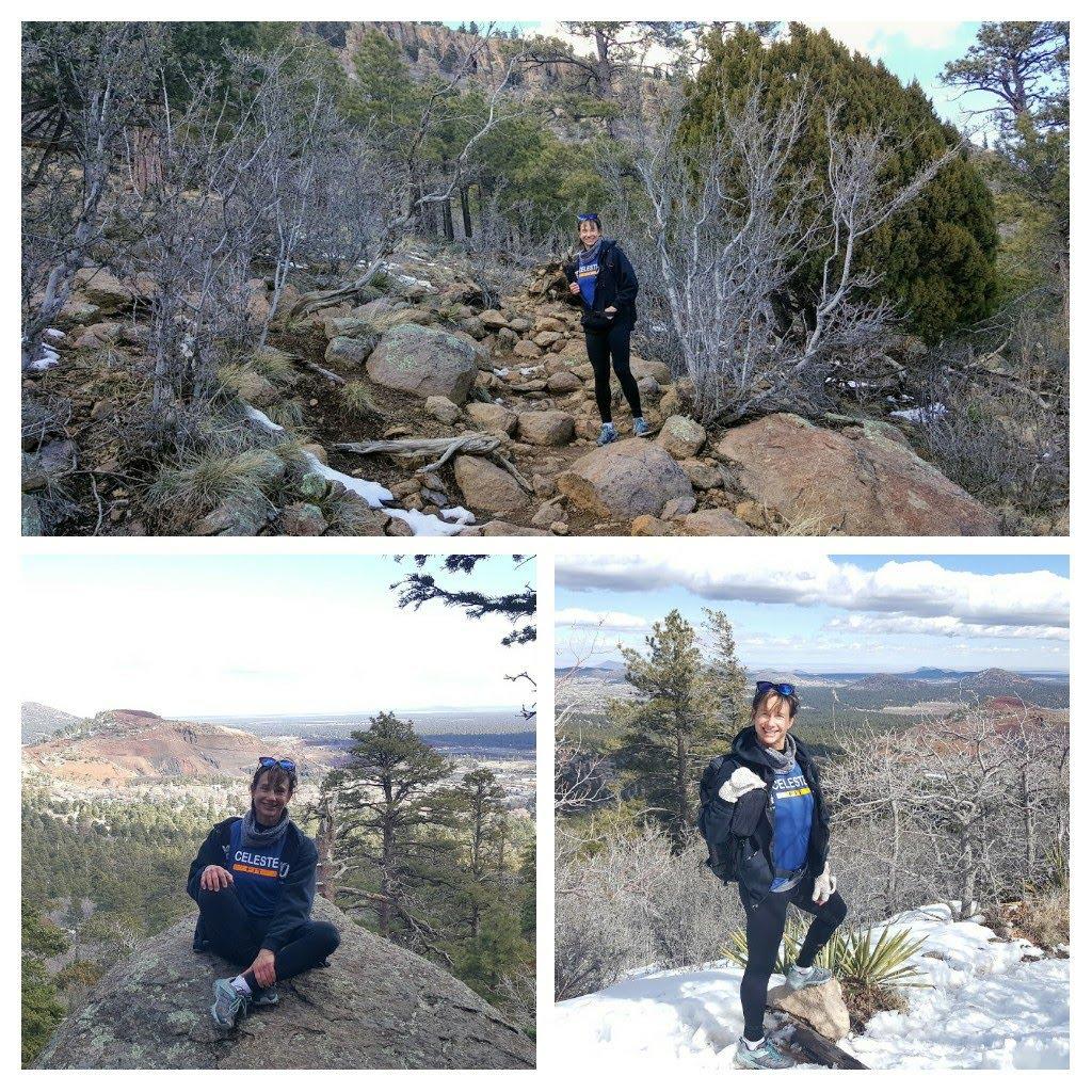 Elden Lookout Trail - 4.7 miles distance 2392 elevation gain