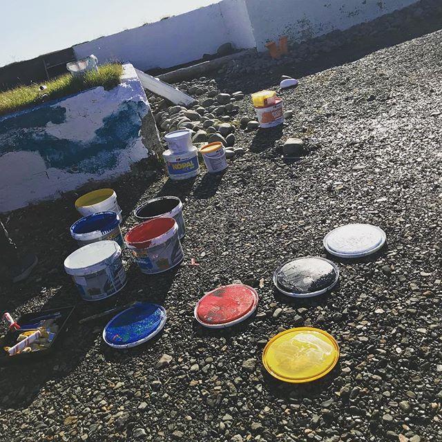 Smiðjudagar í Fjarðabyggð byrjuðu í geggjuðu veðri á Breiðdalsvík.... #BRASAusturland