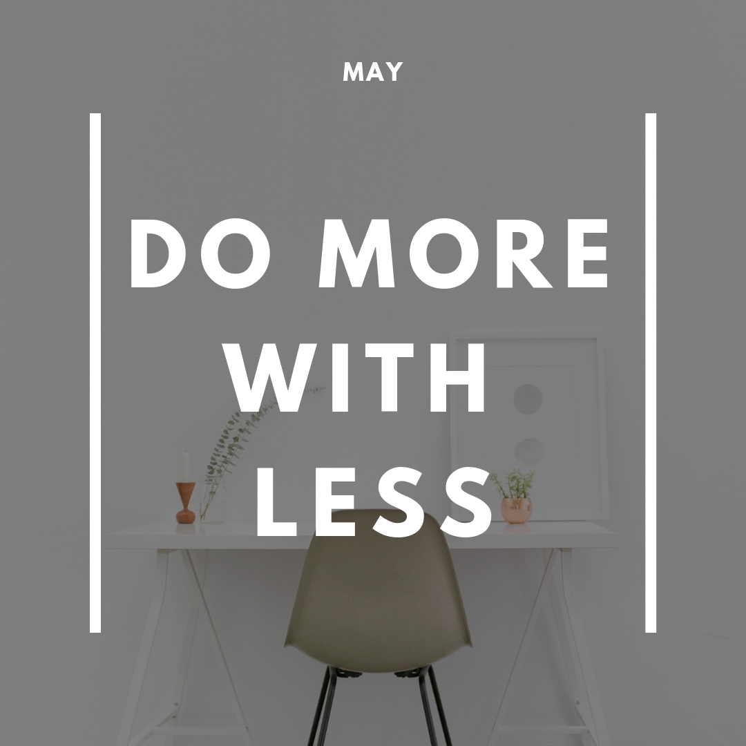simple doesn't mean boring. - The theme for the session is 'Doing more with less' and we will pay particular focus on your current marketing efforts.