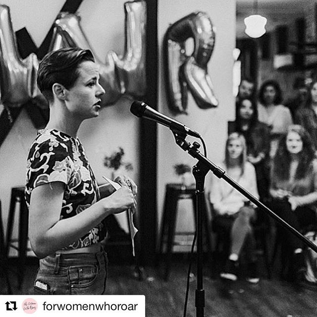So honored to be one of the featured storytellers at the Dear Body event hosted by @forwomenwhoroar on August 1st. I'll be reading the poem that I read at Narratives of Pain a few months ago. It is a poem that took me two years to write and is the biggest effort I've ever made to unravel the way my story has impacted my relationship with my body. I can't believe I'll be reading it in public AGAIN but here we are. Nothing more powerful than sharing my story with compassionate witnesses so I guess I'll keep doing it 💗 Info for tickets @forwomenwhoroar  #Repost @forwomenwhoroar with @get_repost ・・・ Our first FWWR Story Sessions: Dear Body is coming up on August 1st at @collectiveseattle and you don't want to miss it! We have six storytellers sharing their brave work and will have an open mic for the audience to share as well! Get your tickets ASAP, support the movement, and celebrate the stories of womxn! 💋Link in bio under events! 📷 featuring @nicaselvaggio who will be a reader! Photography by the talented @littlealejandra 💛.