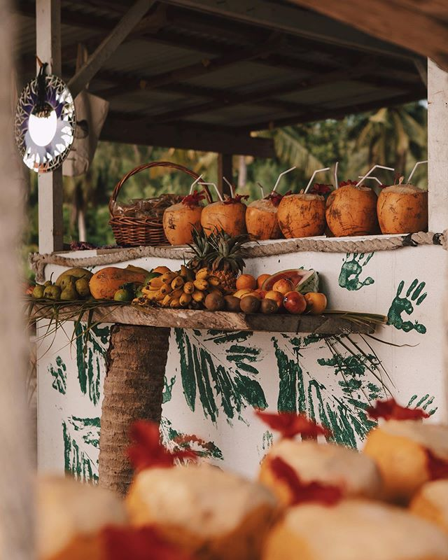 One of our favorite things about tropical destinations is the abundance of delicious fruit stands! Be sure to continue tuning into our IG stories for more goodness from the Seychelles! // #goodtravels #ladigue #seychelles #fruitstand #travel