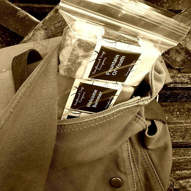 Travel bars so you can take your Tanglewood Soap wherever you roam!  #handcraftedisbetter. #artisansoap  #amazingsoap