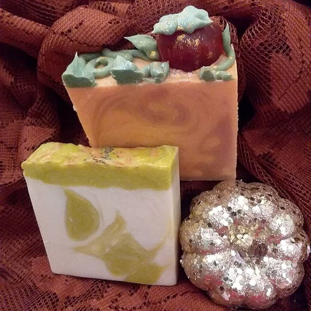 Fall soaps will be ready soon....are you ready?  #fallskincare. #fallfavorite  #fall. #winterskincare  #handcraftedsoap