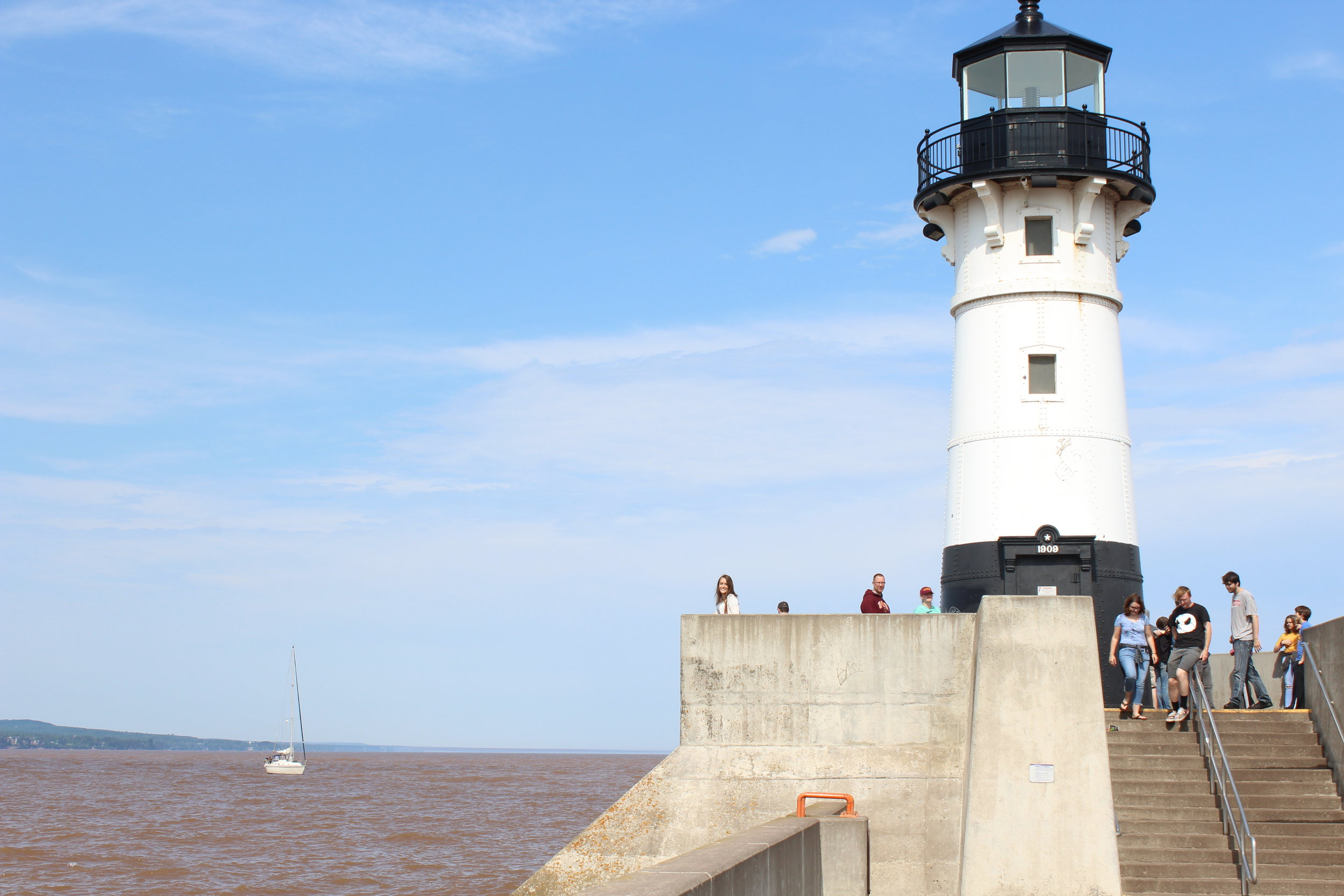 Summer Recap Duluth Lighthouse.JPG