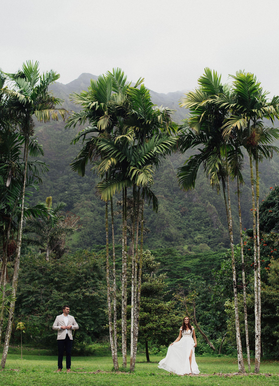 Oahu Hawaii destination wedding