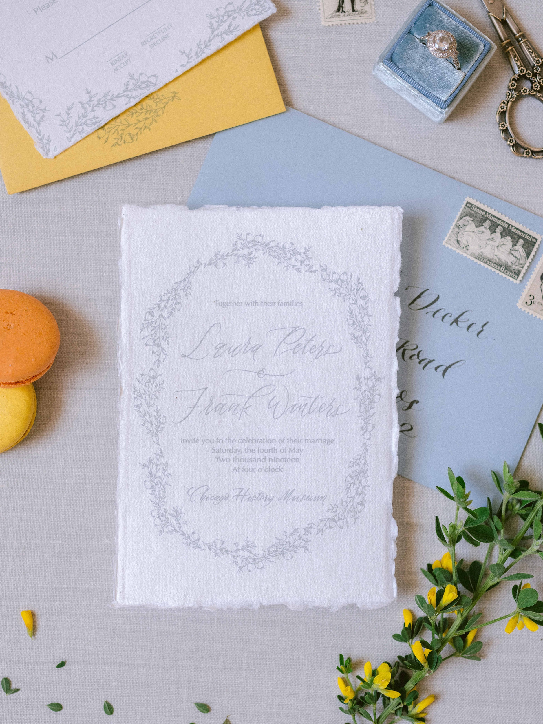 CUSTOM WEDDING SUITES - BY INK LOVE AND PAPER