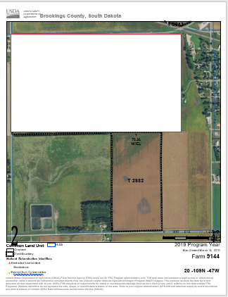 Vaske Farms Tract 3 FSA Map.PNG