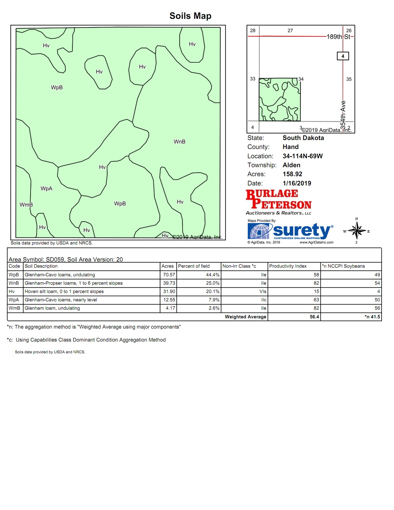 Tract 7 Soil Map