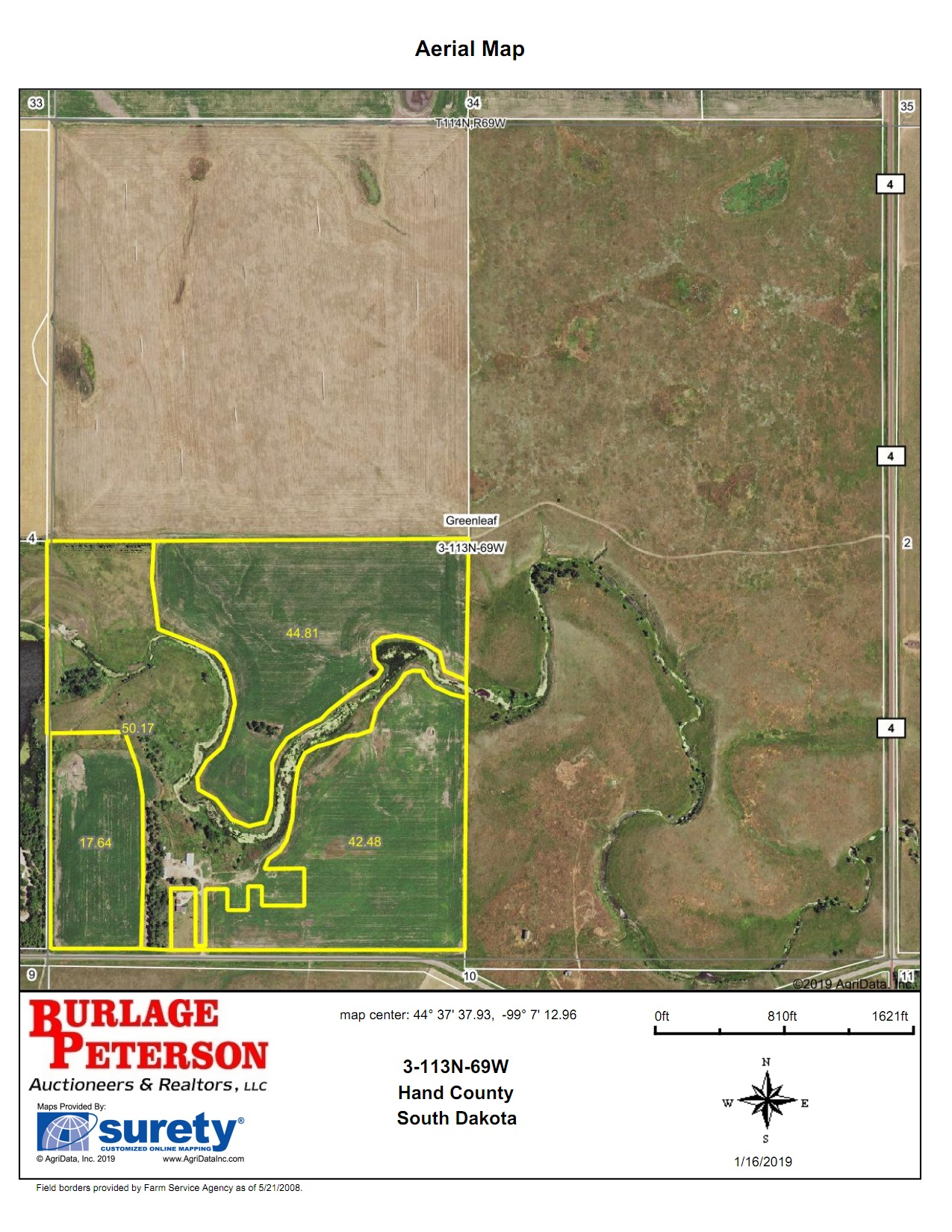 Tract 9 Aerial Map