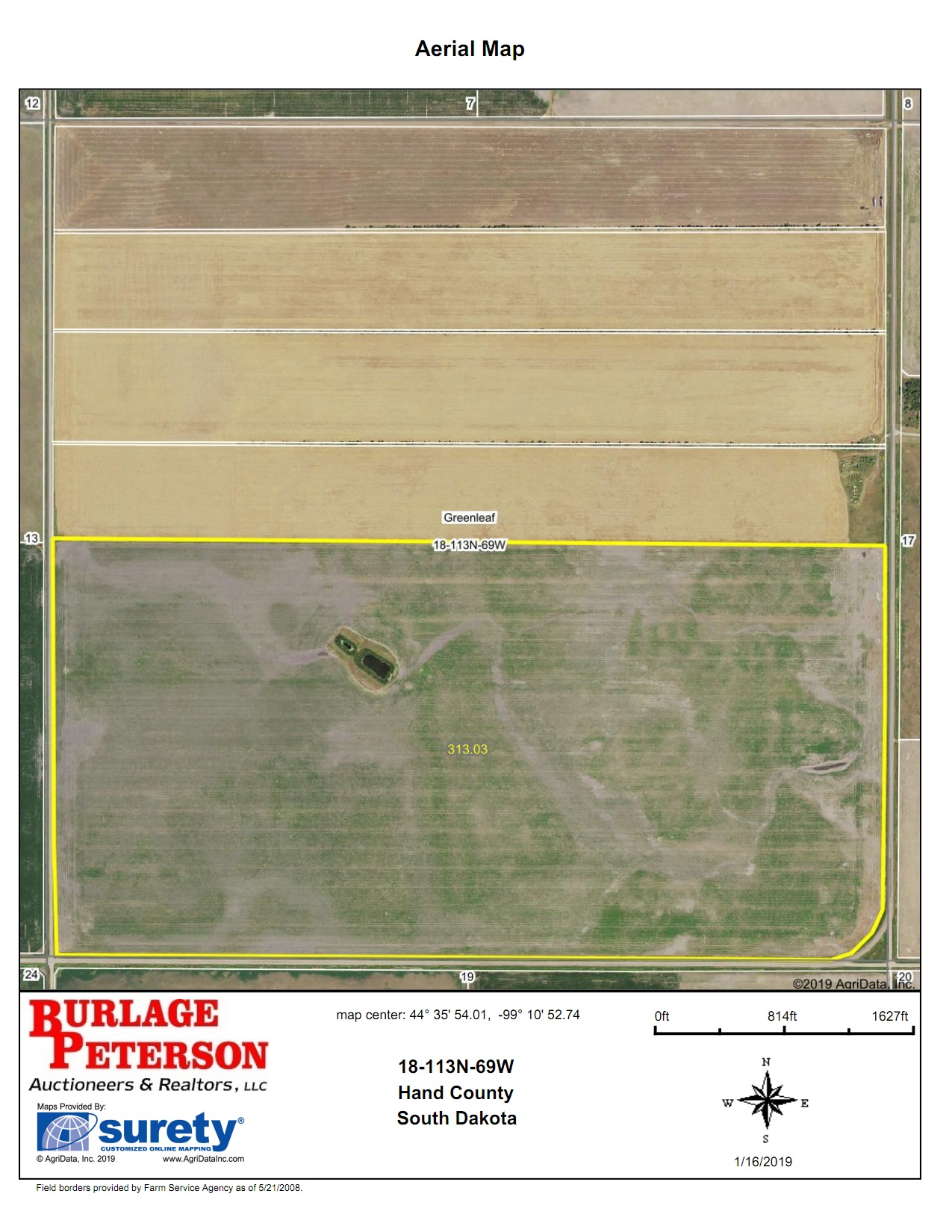 Tract 10 Aerial Map