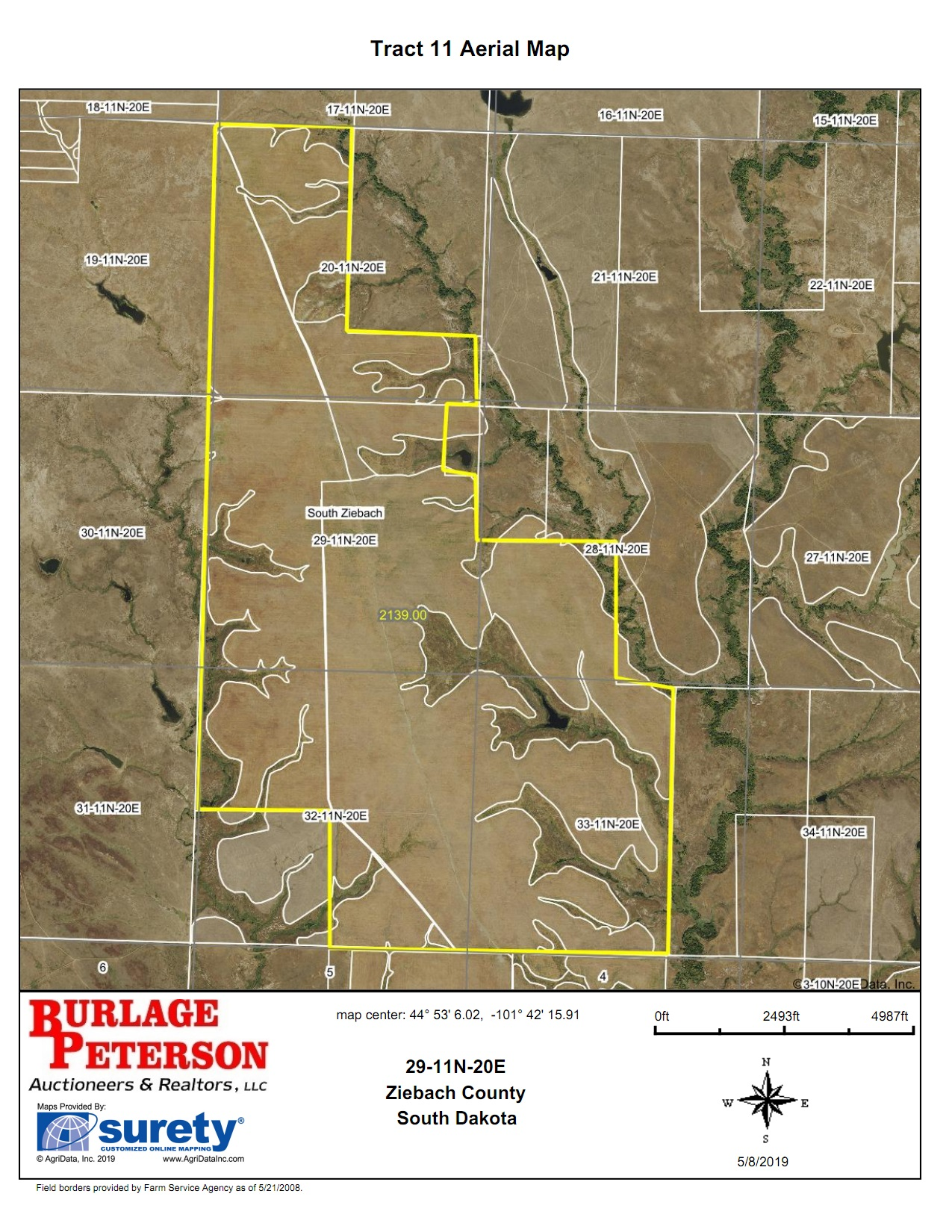Tract 11 Aerial Map
