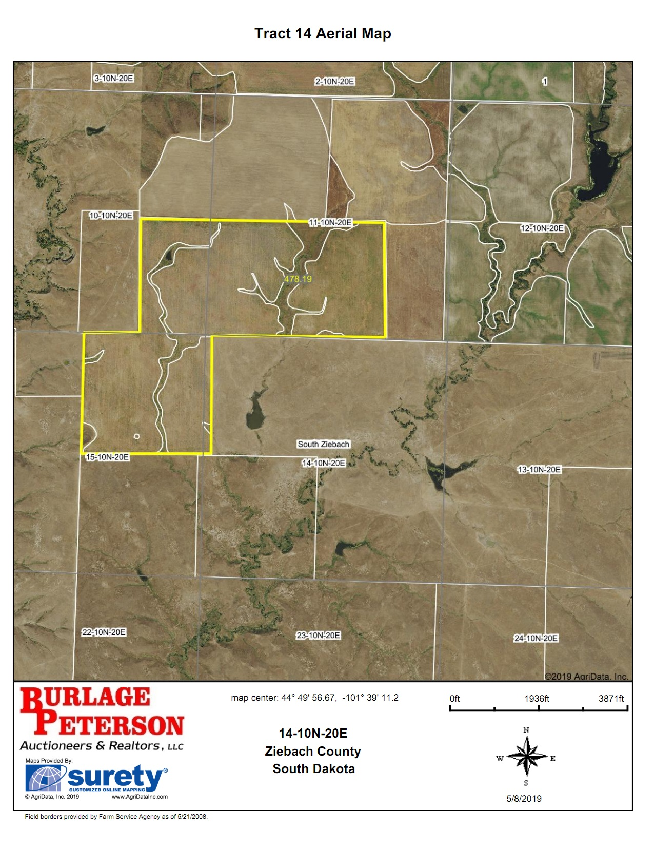 Tract 14 Aerial Map