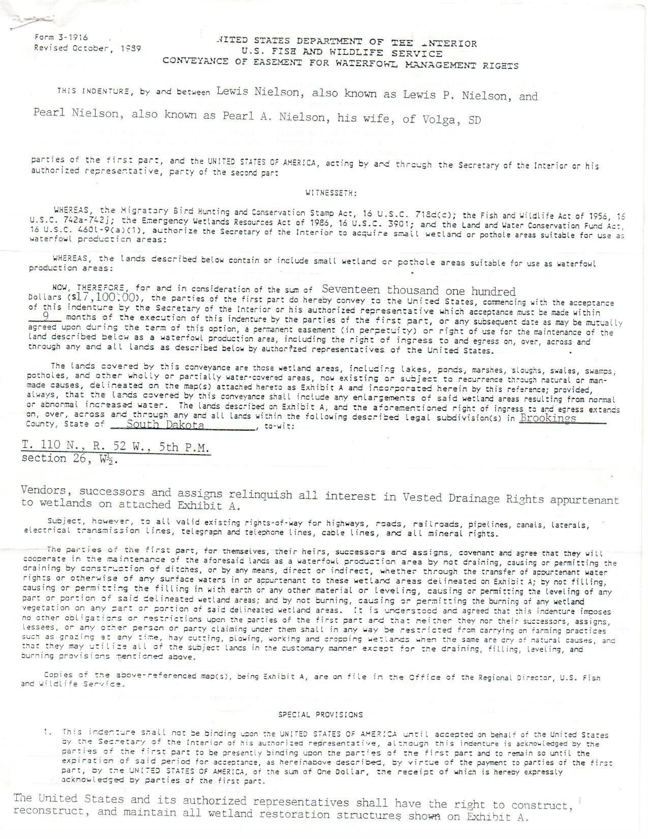 Easement Page 2