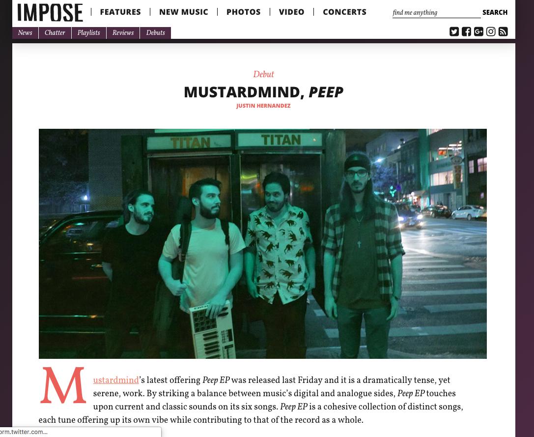 11.8.2016 Impose Magazine
