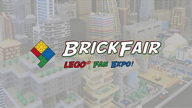 Thursday is unusual show day! Today is the awesome @brickfairexpo that tours around the US. It is the ultimate expo for LEGO fans. Fun fact: Attendees and exhibitors are called AFOLs - Adult Fans Of LEGO 😎