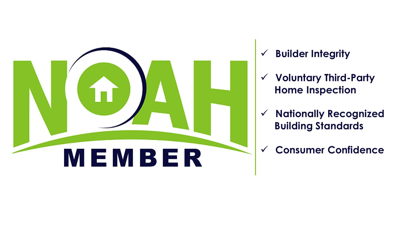 We are NOAH certified builders - NOAH is a National Trade Association for builders, Manufacturers & DIY'ers producing Tiny Houses. The NOAH Standard incorporates nationally recognized safety, construction & energy efficiency standards currently used by the Home Building & RV industries.