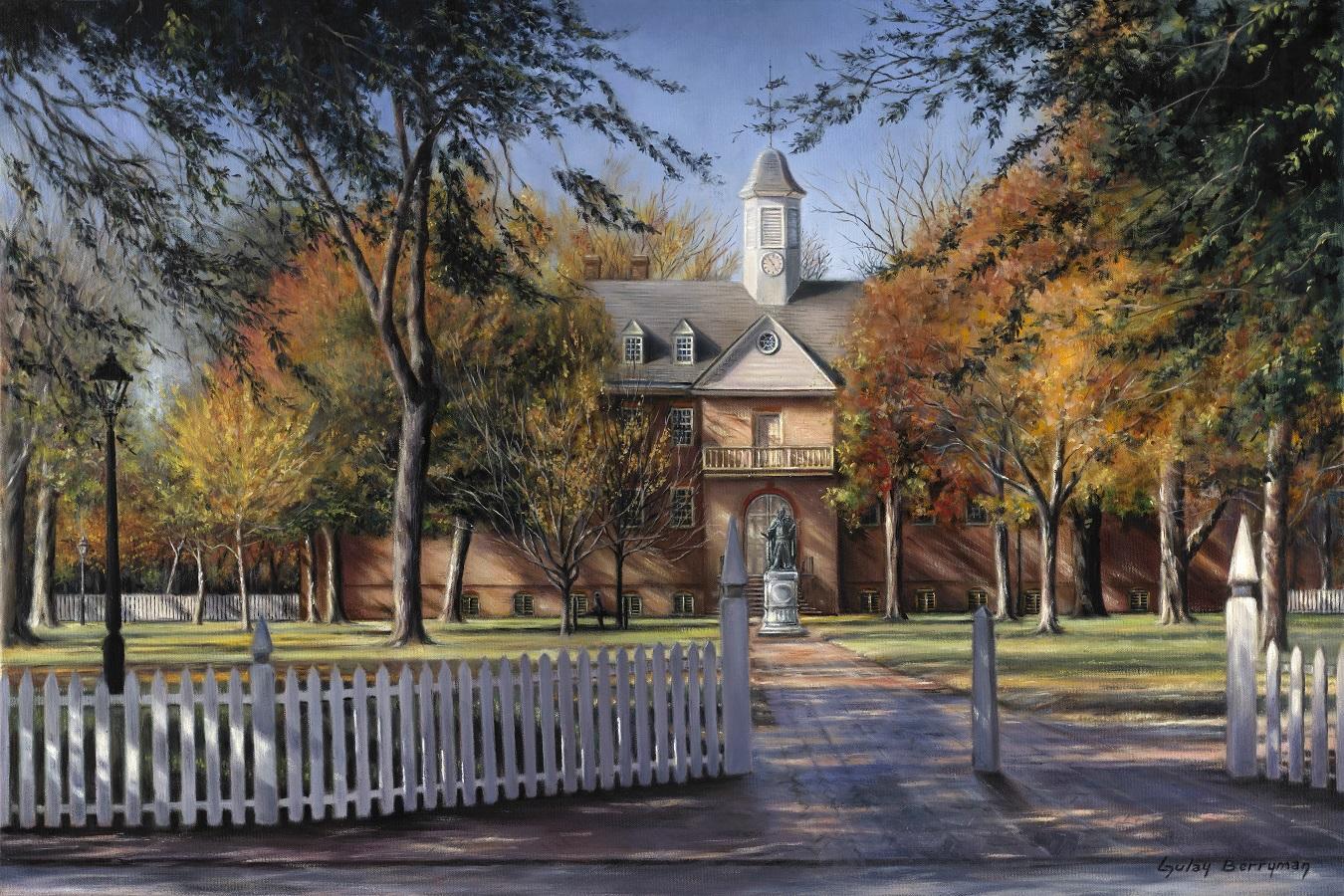 The Wren Building, College of William & Mary