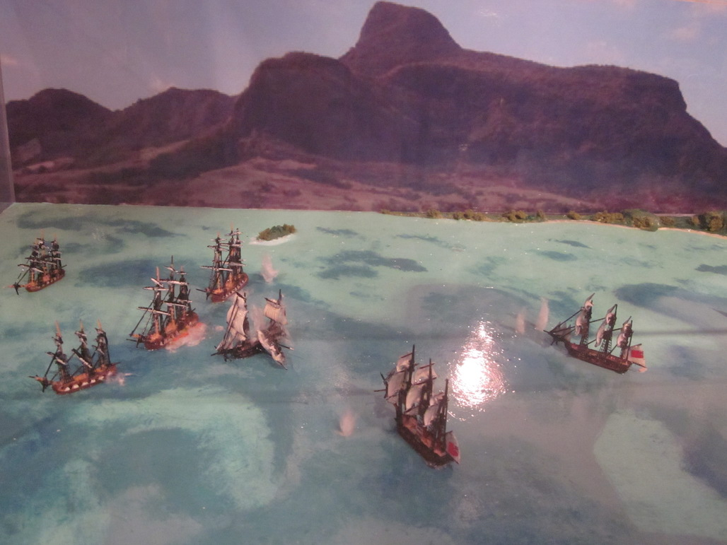Battle of Grand Port (Aug 20-27, 1810) (1-1200 scale)