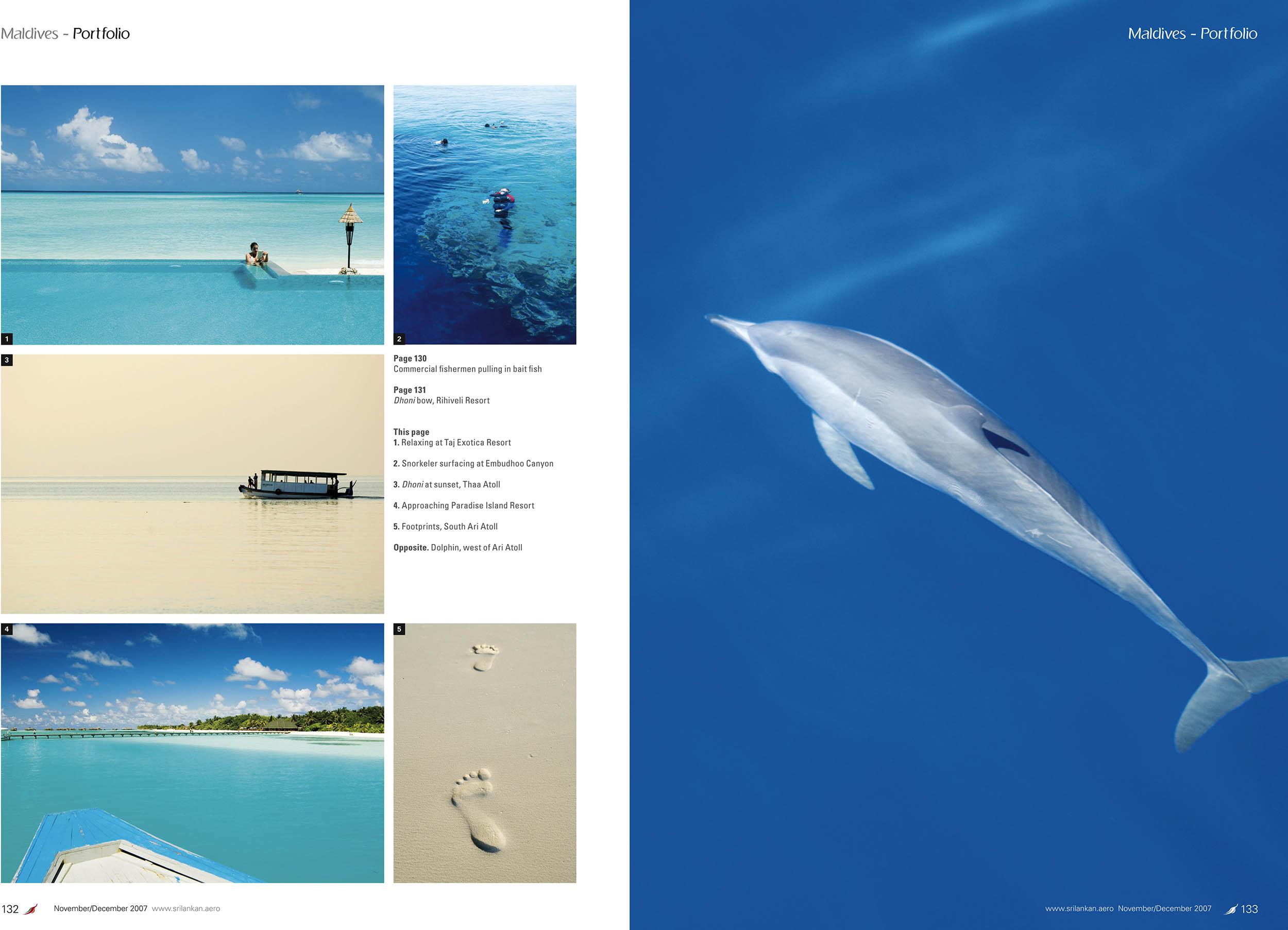 Serendib Magazine. Maldives Portfolio by Thomas Pickard.