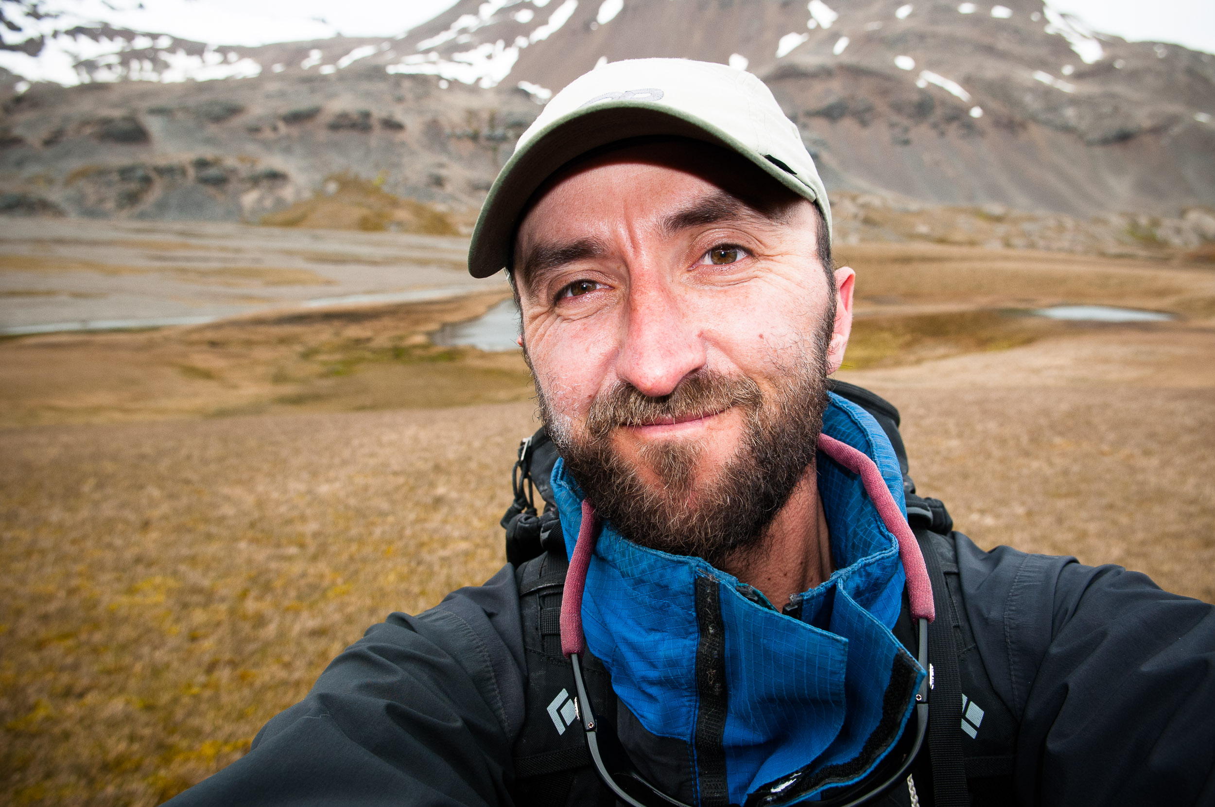 Selfie, while working in South Georgia with Quark Expeditions.