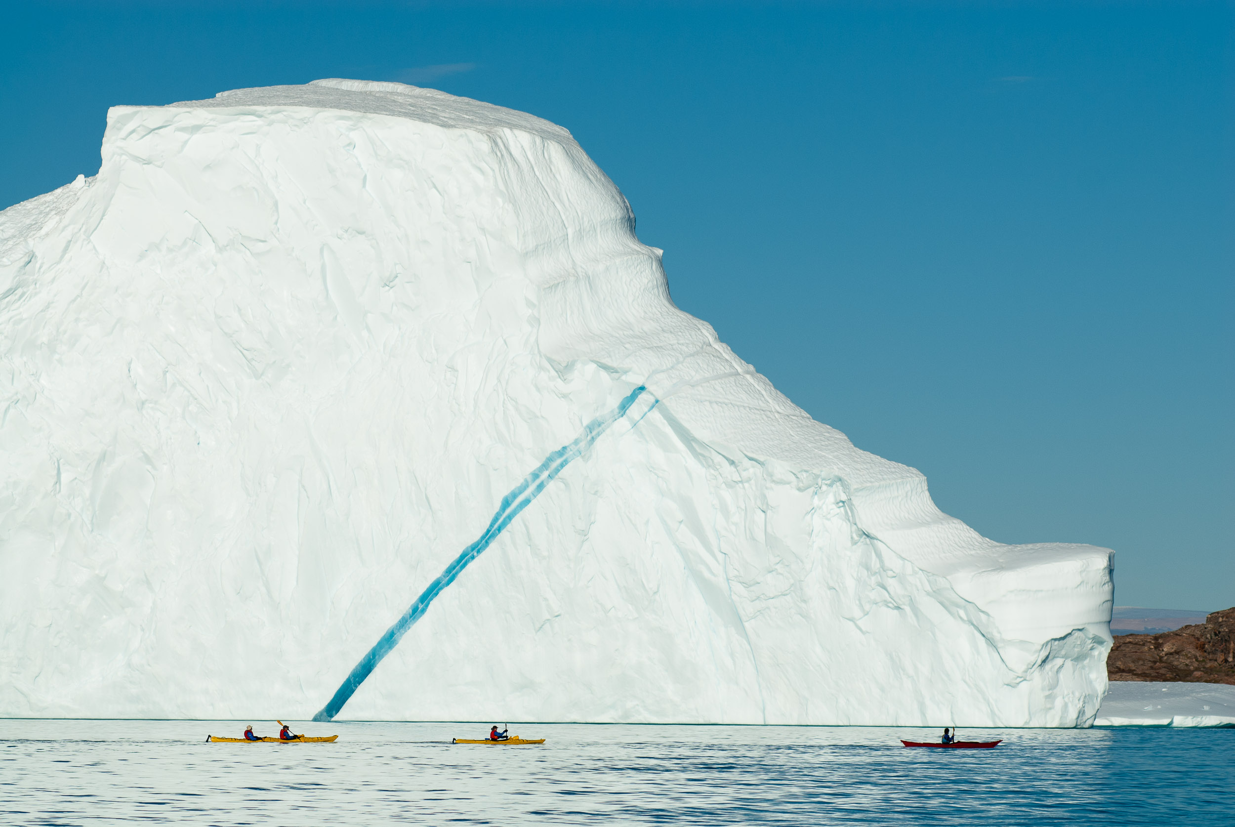 Sea kayaking, Greenland