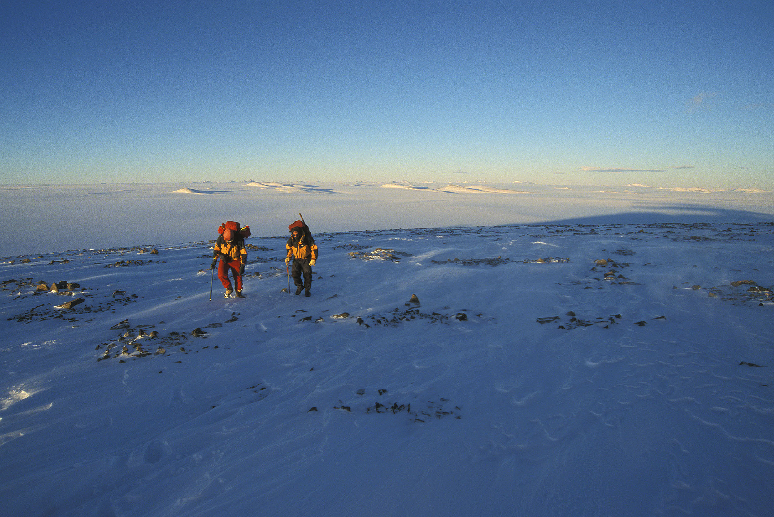 Climbing on Fisher Massif, Northern Prince Charles Mountains, Antarctica. © www.thomaspickard.com