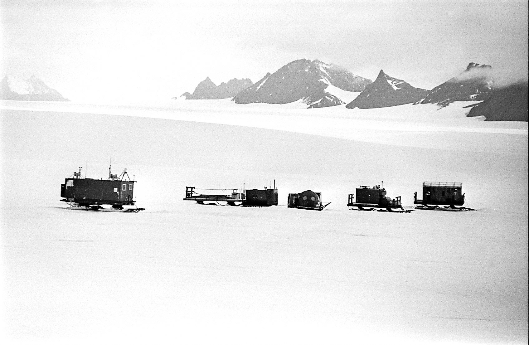 Framnes Mountains, Antarctica. The David Range is clearly visible in the background. © www.thomaspickard.com