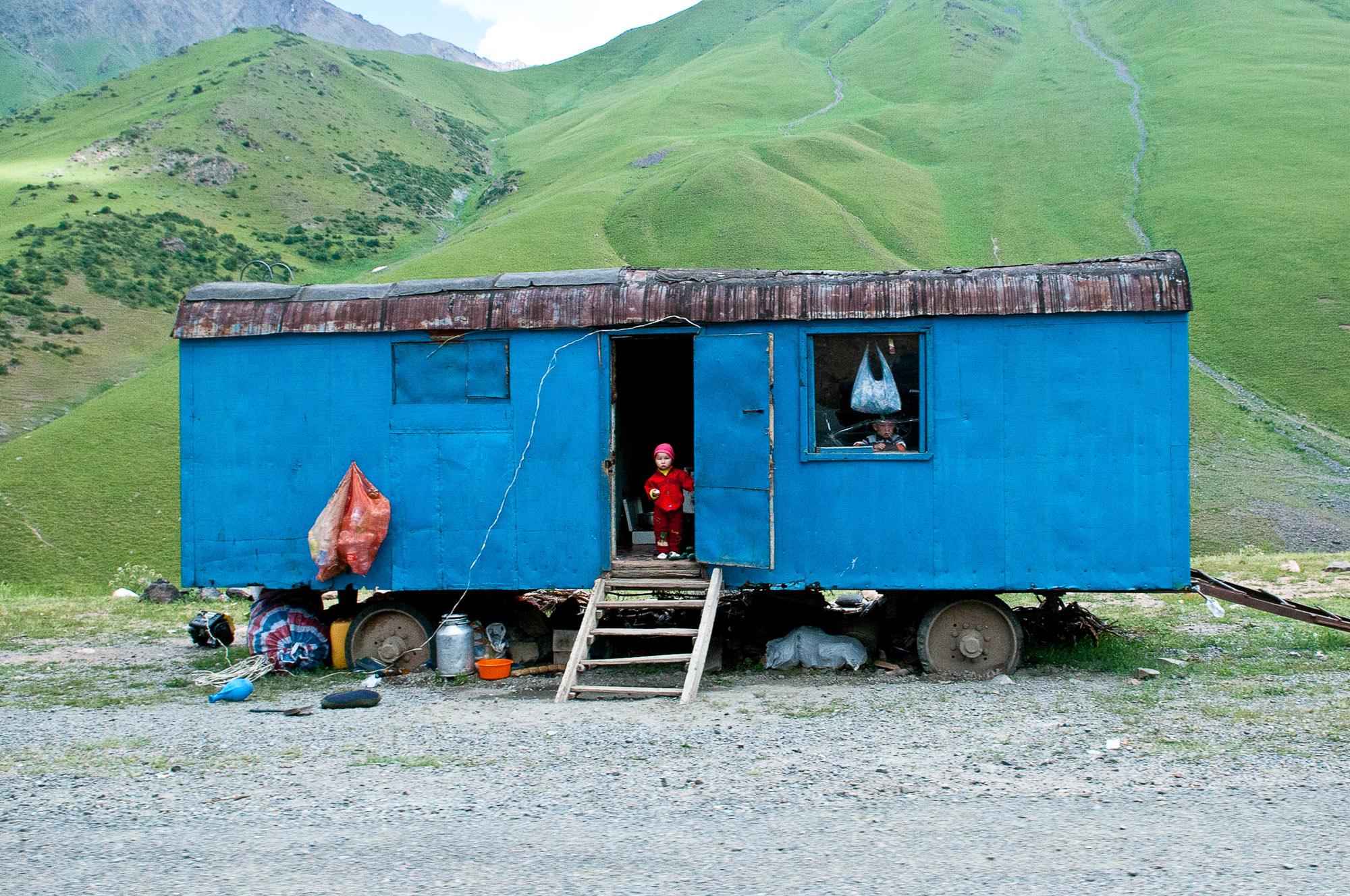 Somewhere in Kyrgyzstan. © www.thomaspickard.com