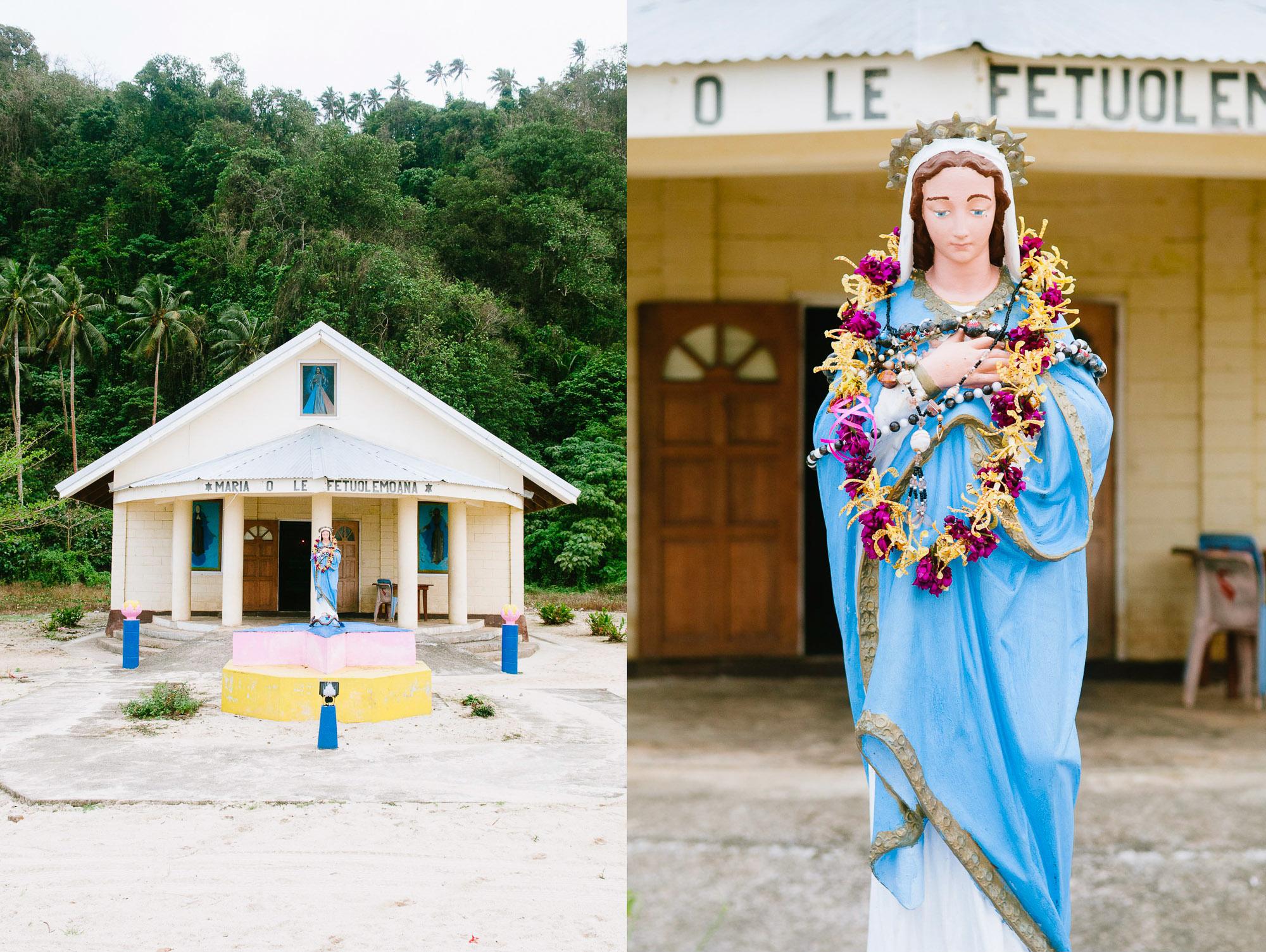 Church, Upola Island, Samoa. © www.thomaspickard.com