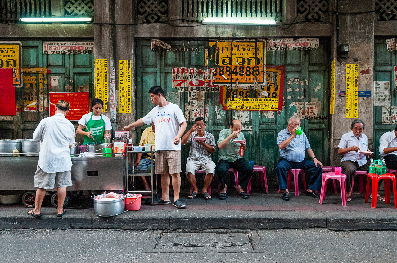 Street food, China Town, Bangkok, Thailand. © www.thomaspickard.com