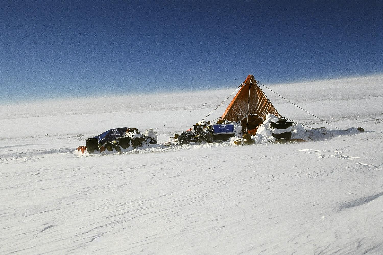 Camp, Northern Prince Charles Mountains, Antarctica. © www.thomaspickard.com