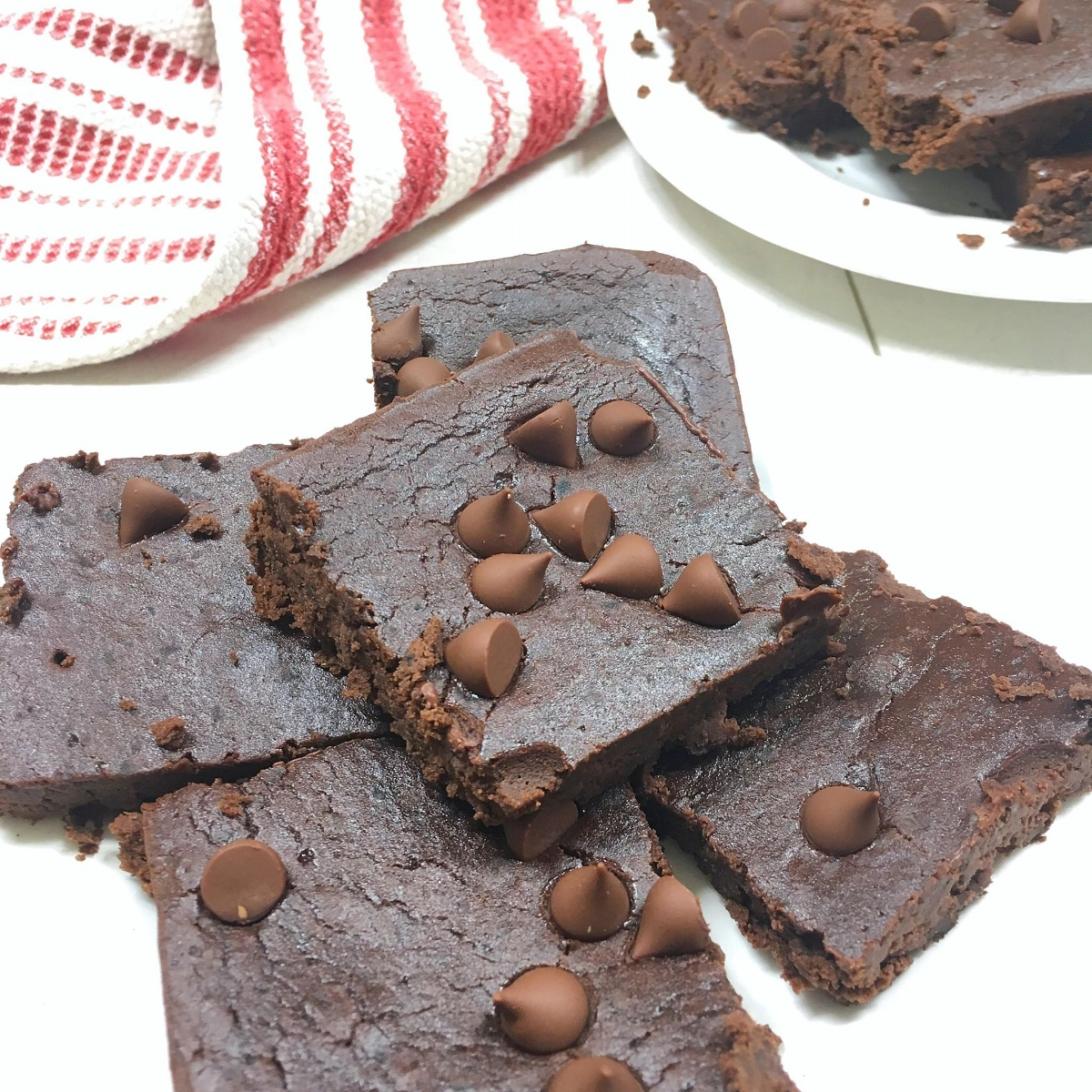 Dark Chocolate Peppermint Brownies