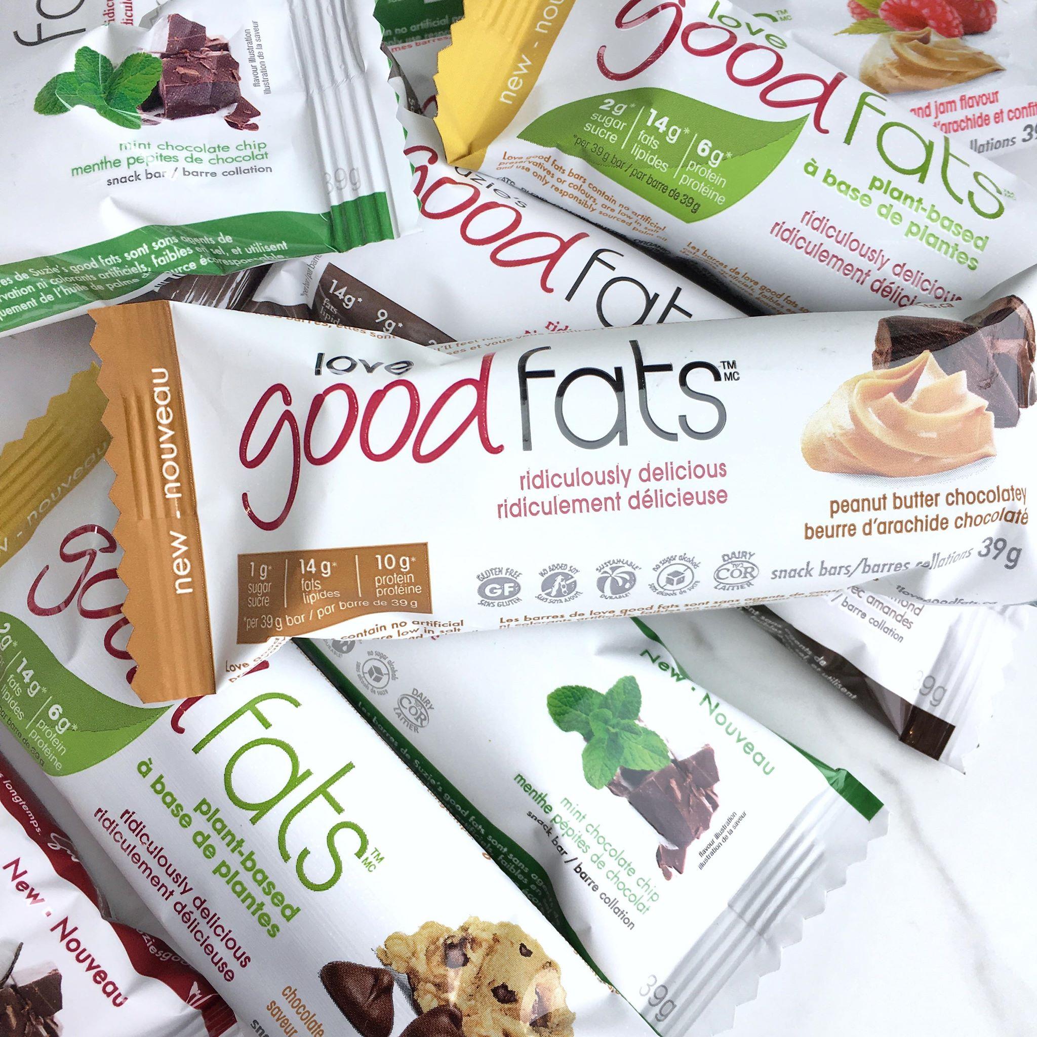 Suzie's Good Fats Bars