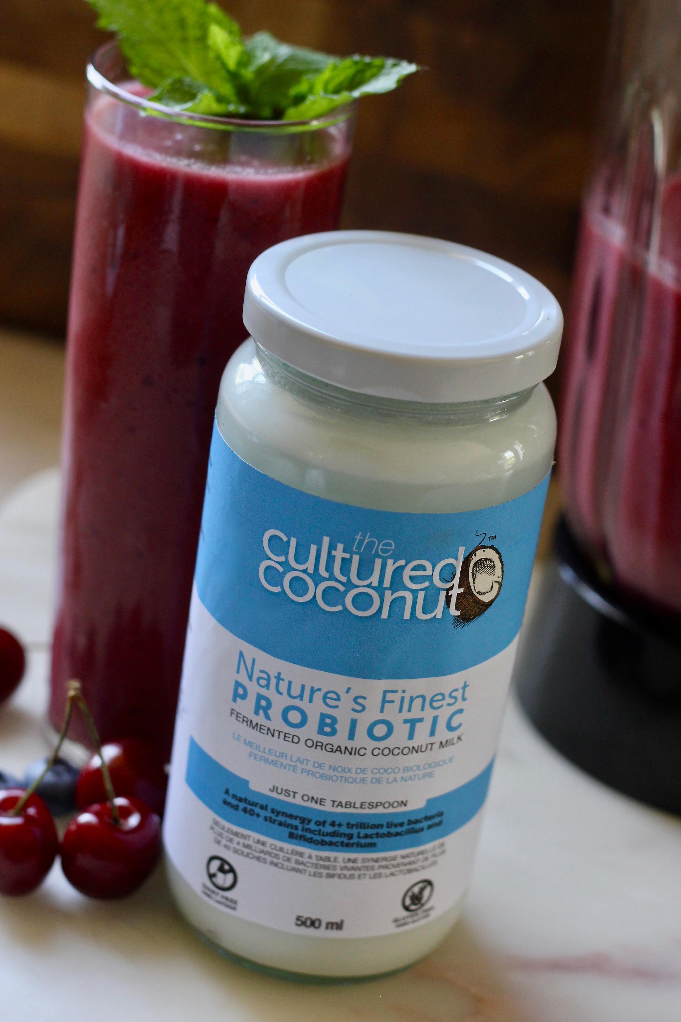 The Cultured Coconut Probiotic