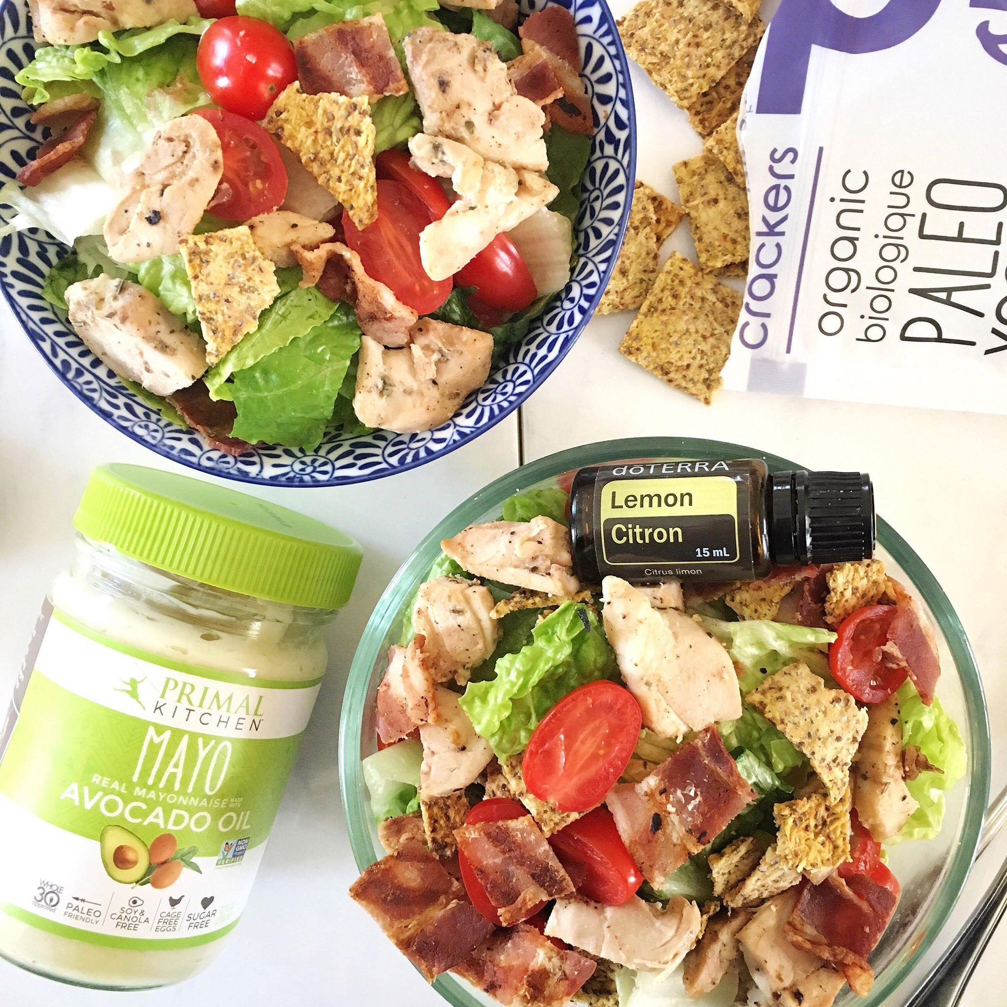 Glamified Gluten Free Caesar Salad