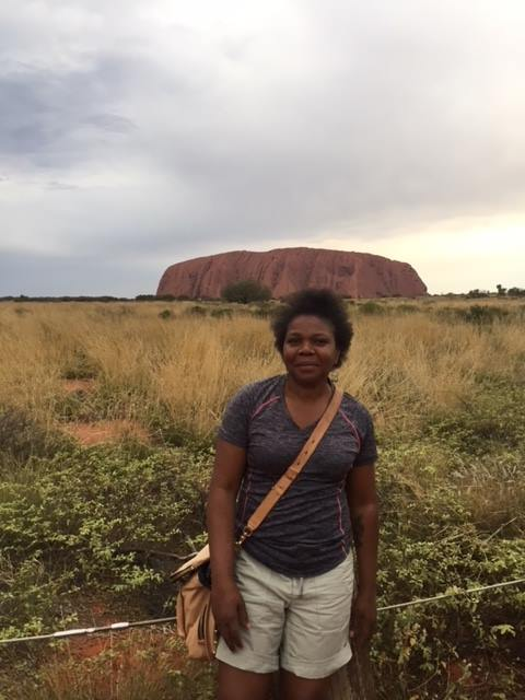 Visiting Ayers Rock in Australia