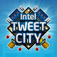 Intel Tweet City