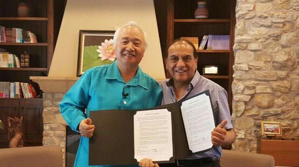 Ilchi Lee and don Miguel Ruiz