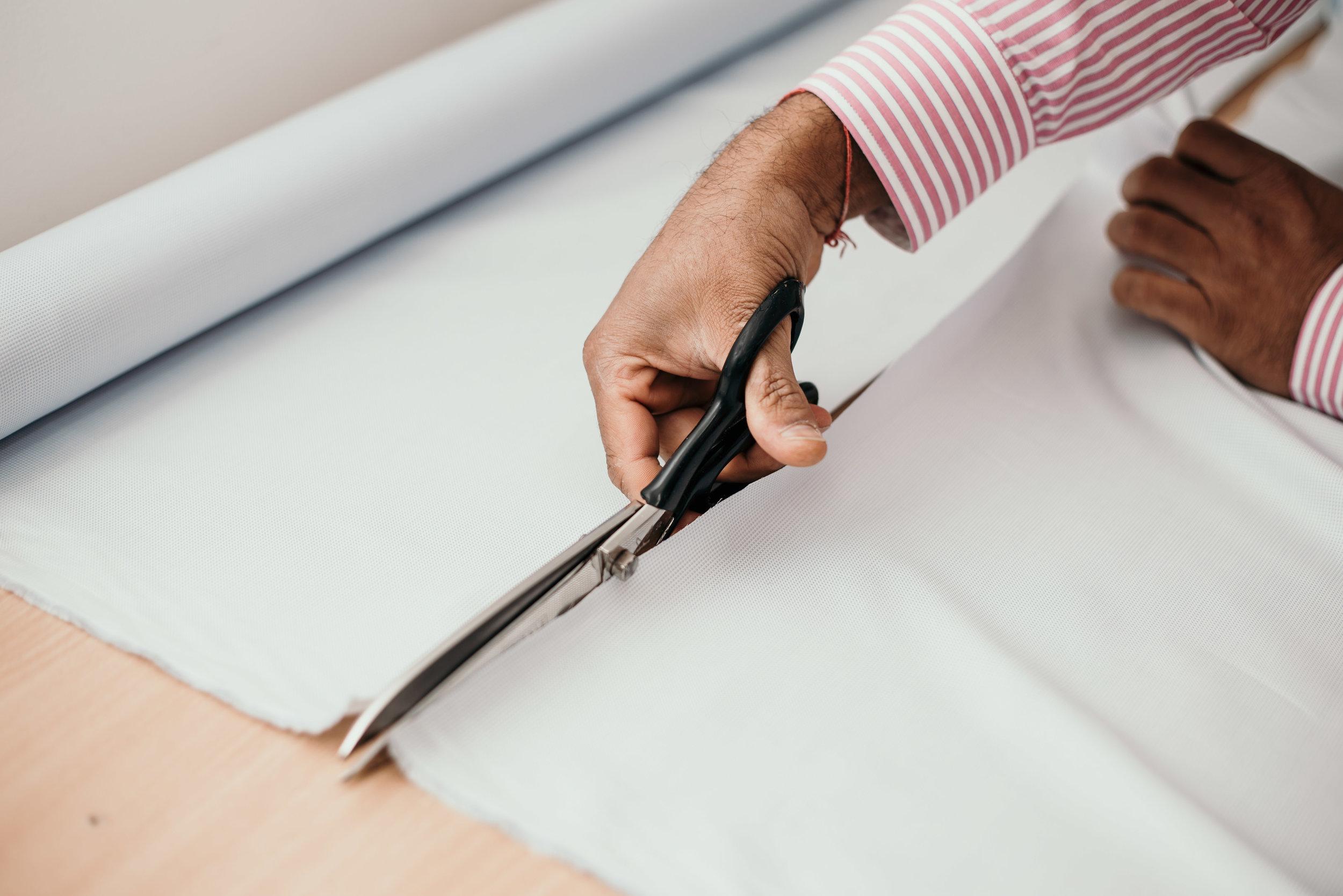 Cutting your shirt