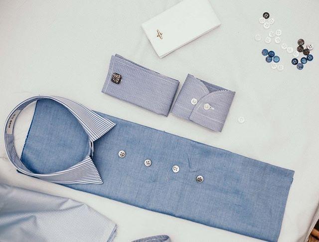 Build your perfect shirt @sartitailors 👔 . . . #madetomeasure #madeinmelbourne #bespoke #shirts #sartitailors #spring #races #perfect #choice