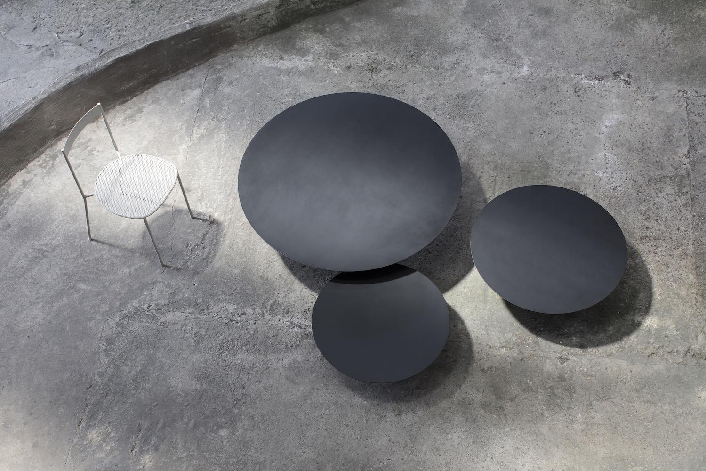 Outdoor salontafels van Bea Mombaers -