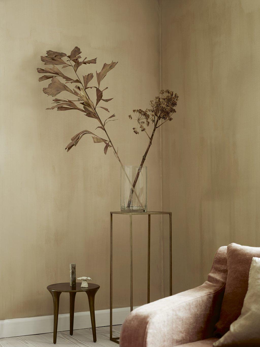 Stalen bloemtafels -