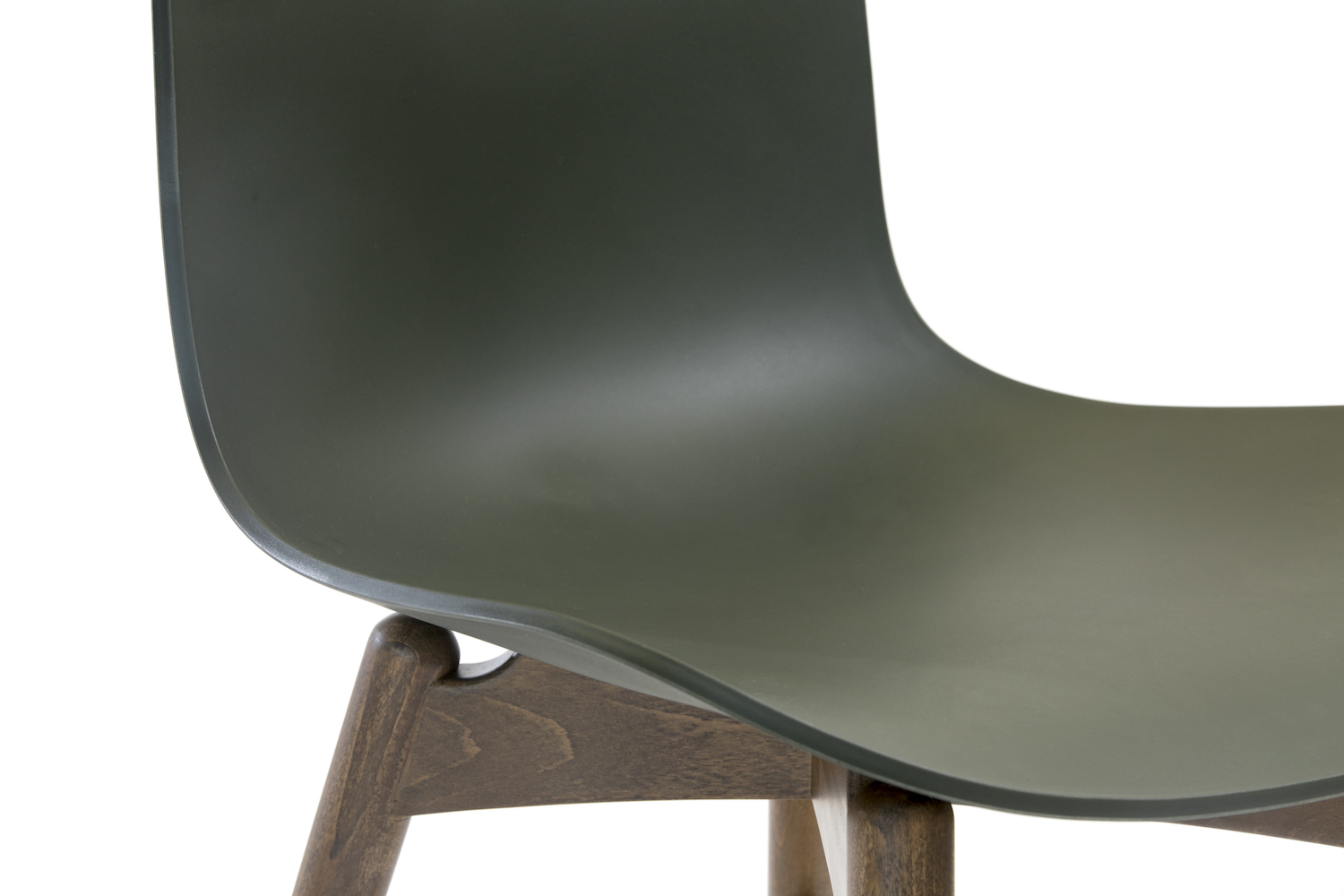 Langue Original Dining Chair, Smoked, Army Green.jpg