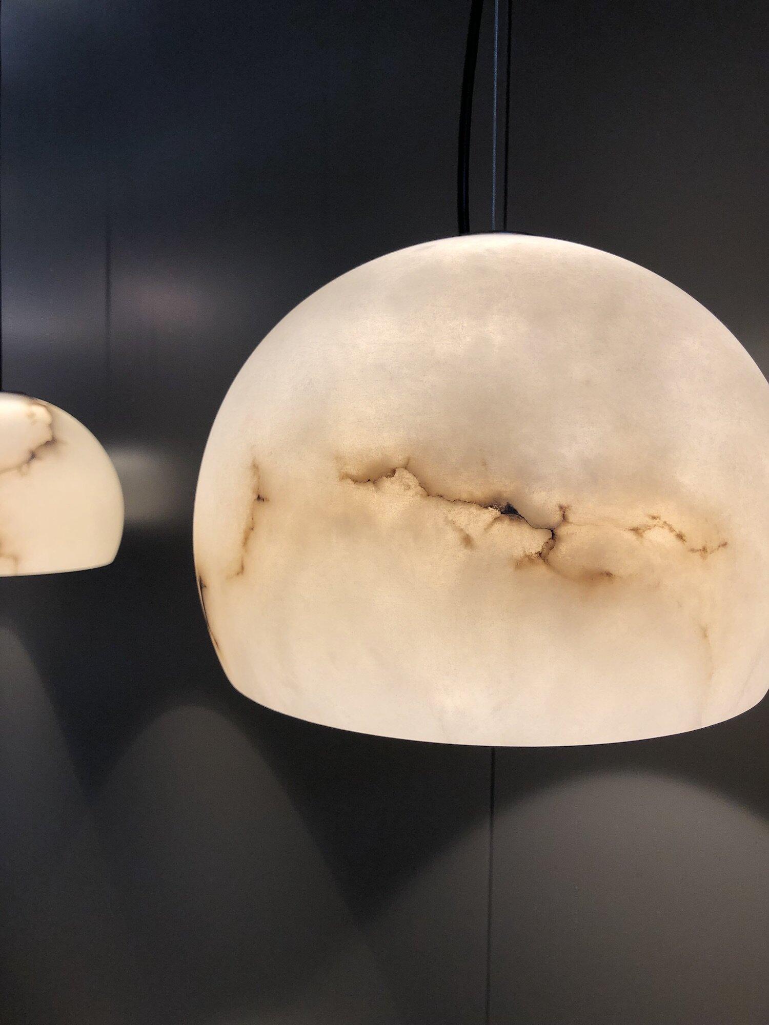 Marmeren hanglamp Carpyen