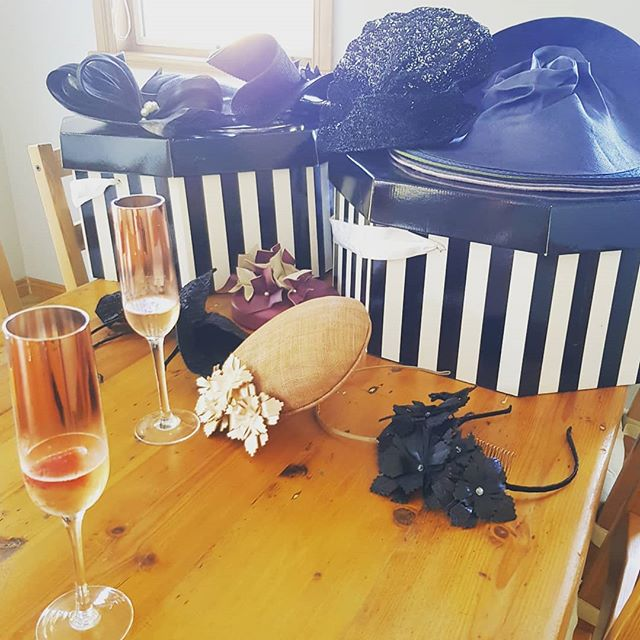 Enjoyed a fabulous brunch with 3 gorgeous ladies planning the outfits for the next race day FOTF event... stay tuned for some sneak peaks!  #melbournemillinery #fashionsonthefield #easterraces #vintagefashion #handmadehats #terileannemillinery #counrtyraces