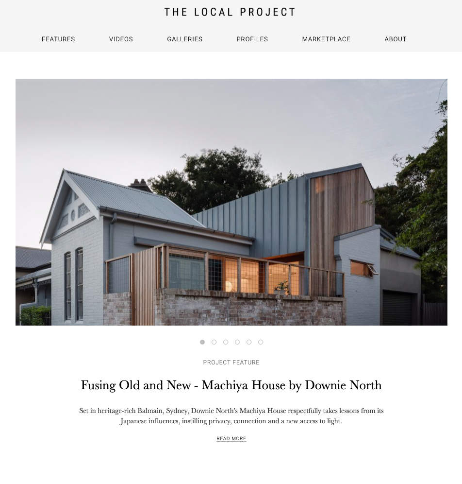 The Local Project Machiya House