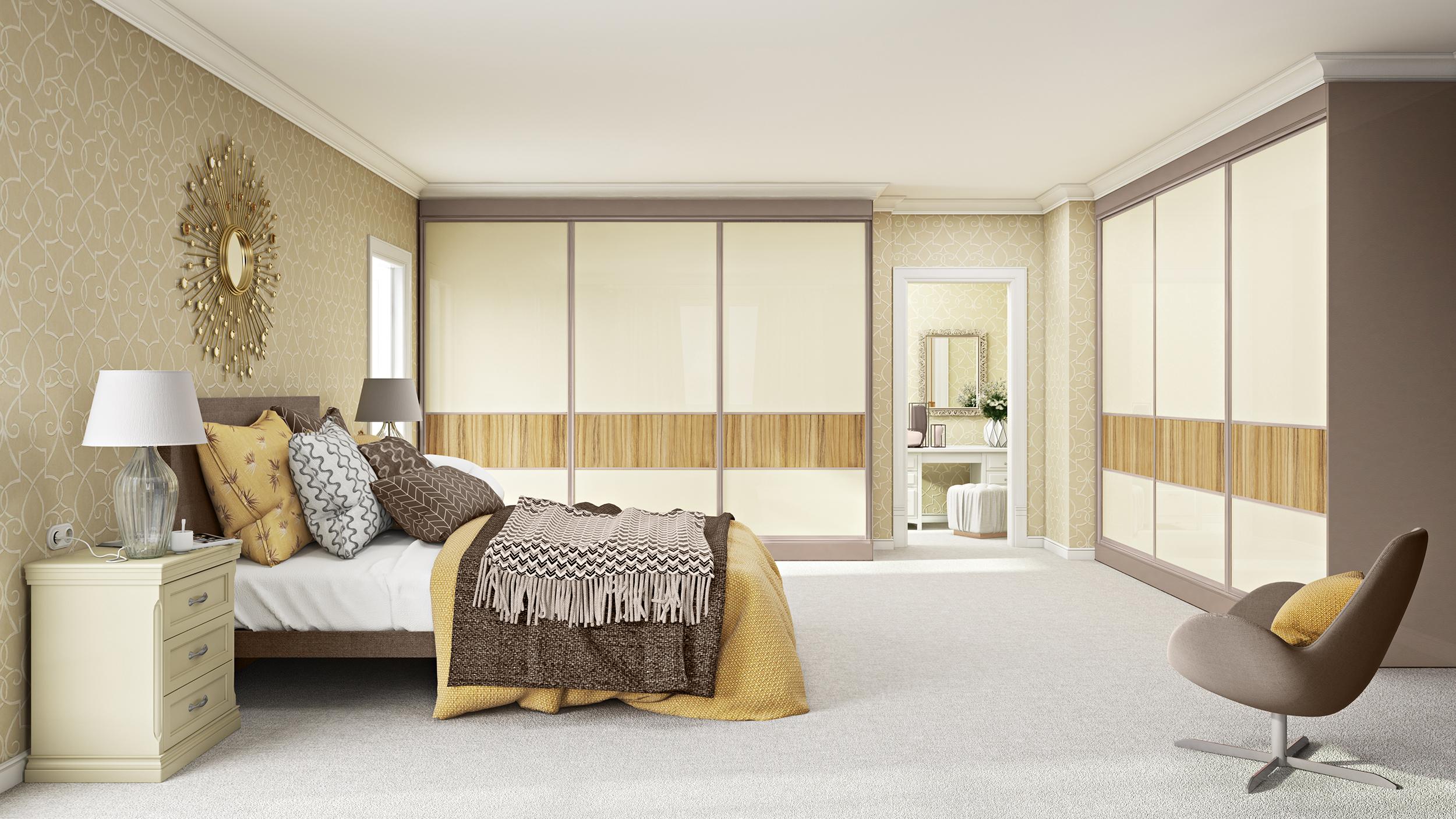 Resized Lazio Oak 407 - Crema Beige doors with Coco Bolo feature panels, Sardegna Stone Grey frame and Stone grey Externo.jpg