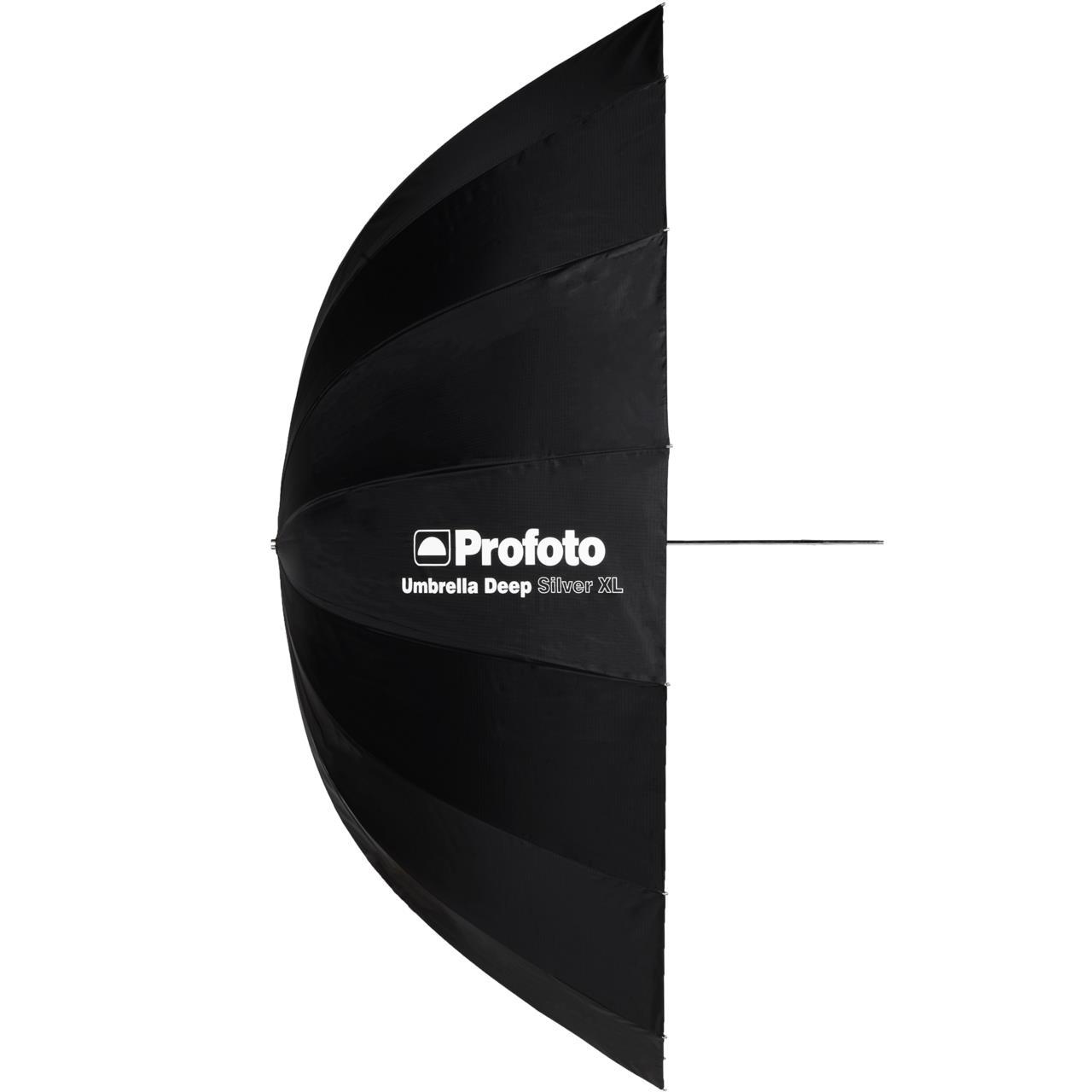 Profoto Umbrella Deep Silver XL - Profoto Umbrella Deep Silver XL, 165 cm m/ diffusjon.Pris: 120,- eks. mva