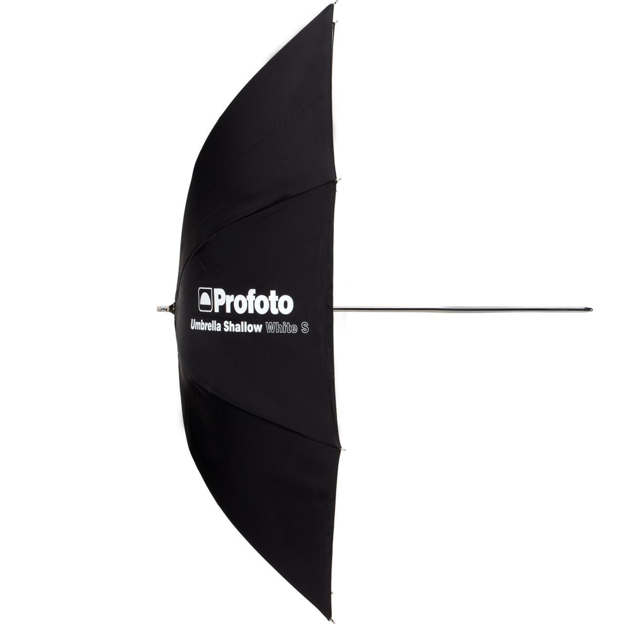 Profoto Umbrella Shallow White S - Profoto Umbrella Shallow White S, 85 cm.Pris: 35,- eks. mva
